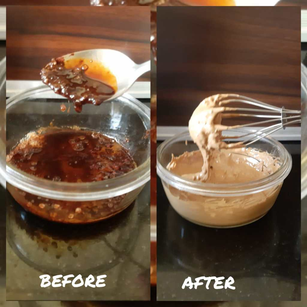 Dalgona Coffee_Before and After