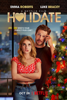 This is a poster for the film Holidate
