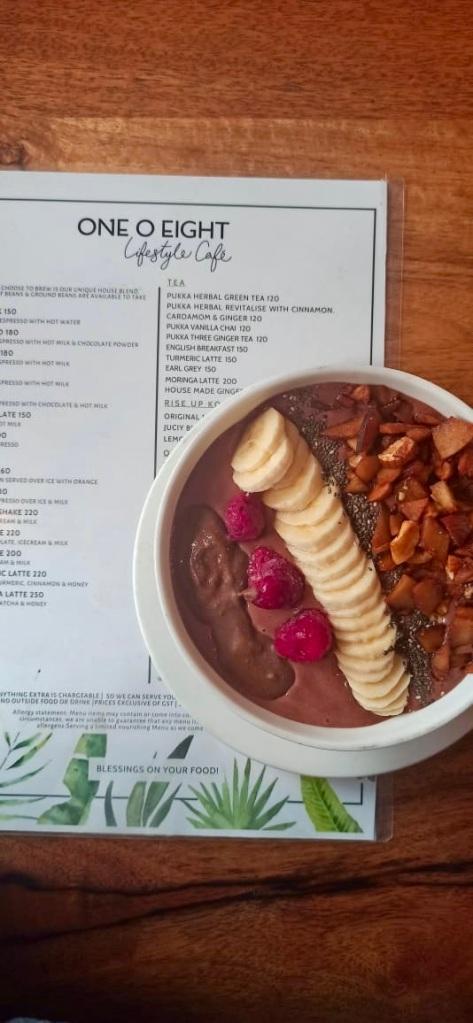 Cacao Berry Smoothie Acai Bowl